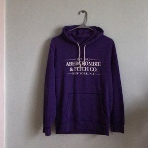 Abercrombie & Fitch Hoodie- purple